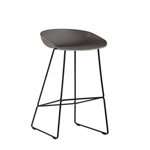 About A Stool AAS38 Grey/Black 65cm