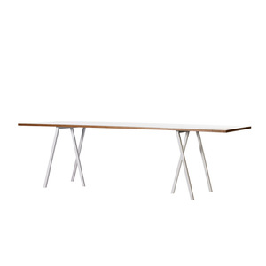 Loop Stand Table -white