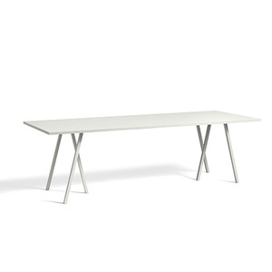 Loop Stand Table - grey