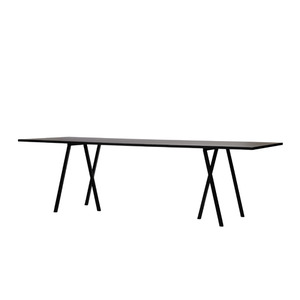 Loop Stand Table - black