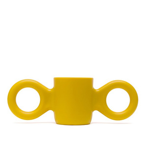 Dombo design cup, yellow