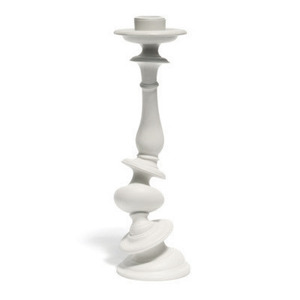 Distortion Candlestick White