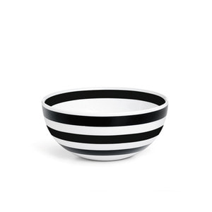 Omaggio breakfast bowl, Black H60