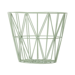 Wire Basket Medium Mint
