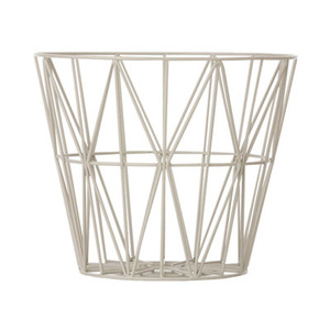 Wire Basket Medium Grey