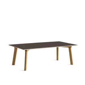 Copenhague DEUX CPH250 Table  Matt Lacquered Solid Oak Frame  L120 x W60 x H39 cm  4colors