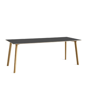 Copenhague DEUX CPH210 TableMatt Lacquered Solid Oak Frame  L200 X W75 X H73 cm 4 colors