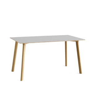 Copenhague DEUX CPH210 Table Matt Lacquered Solid Oak Frame  L140 X W75 X H73 cm  4colors