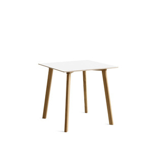 Copenhague DEUX CPH210 Table Matt Lacquered Solid Oak Frame   L75 X W75 X H73 cm  4colors