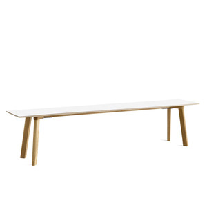 Copenhague DEUX CPH215 Bench  Matt Lacquered Solid Oak Frame L200 x W35 x H45 cm  4 colors