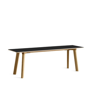 Copenhague DEUX CPH215 Bench  Matt Lacquered Solid Oak Frame  L140 x W35 x H45 cm  4 colors