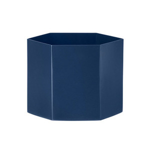 Hexagon Pot XL Blue