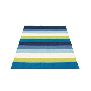MOLLY 몰리 Broad Rug / blue, multi