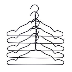 Wire hanger 5pcs 2 colors