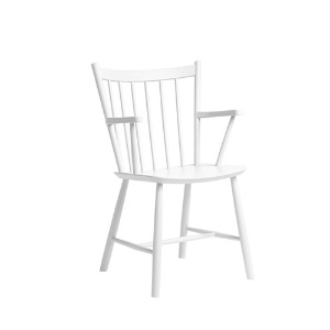 J42 Chair FDB Solid Beech White
