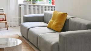 Mags soft sofa with low armrest