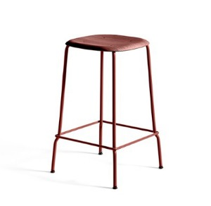 Soft Edge P30 Bar Stool H65  Fall Red