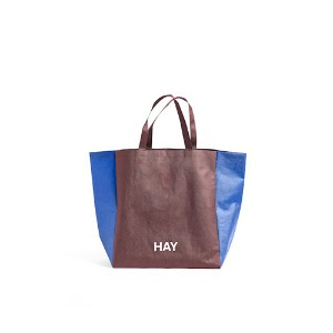 Shopping Bag Two-Tone S Burgundy