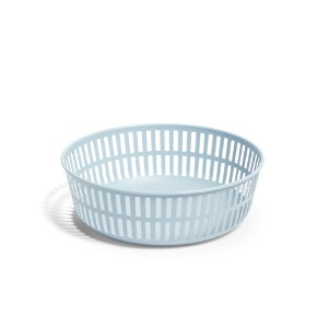 Panier Round  Light Blue